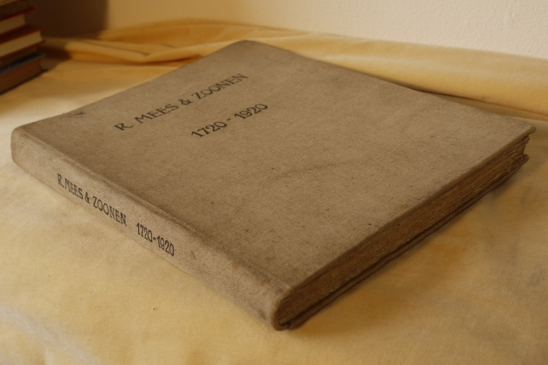 Mees R.  (samenst) - Gedenkschrift van de firma R.Mees & Zoonen ter gelegenheid van haar tweehonderd-jarig bestaan 1720-1920