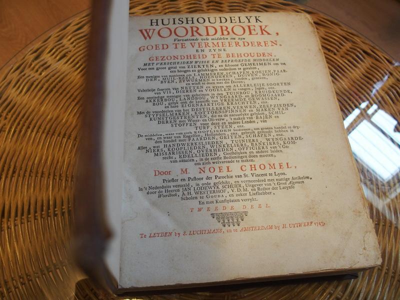 Huishoudelyk Woordboek, Ver...
