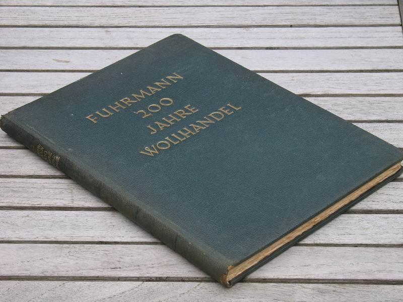 - Fuhrmann 200 jahre wollhandel 1735-1935