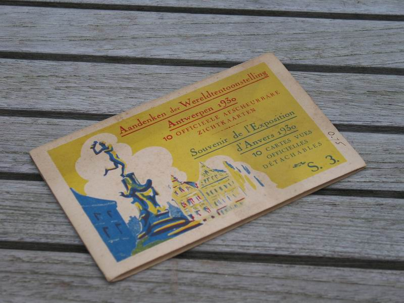 - Aandenken der Wereldtentoonstelling Antwerpen 1930. 10 officieele afscheurbare zichtkaarten / Souvenir de l'Exposition d'Anvers, 1930