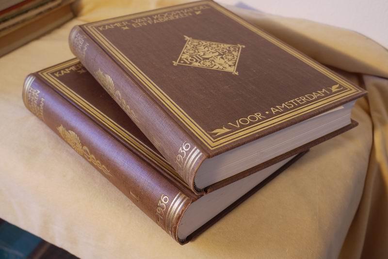 Westermann J.C. - Kamer van Koophandel en fabrieken voor Amsterdam. Gedenkboek samengesteld ter gelegenheid van het 125 jarig bestaan
